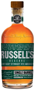 Russell's Reserve Rye Whiskey Single Barrel 750ml